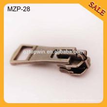 MZP28 en gros glissière en métal et fermeture à glissière en métal