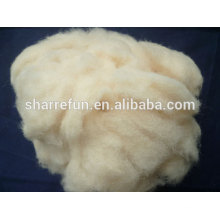 White and Cream Color Chinese Sheep Wool Noils