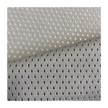 High quality 100%polyester 125GSM knit knitted knitting mesh fabric for sports wear