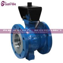 Válvula de esfera do segmento de CF8 CF8M WCB V para o tratamento da água