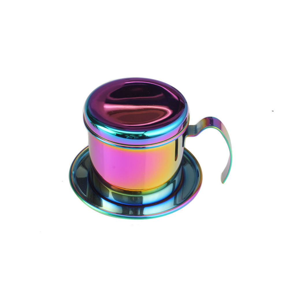 Rainbow Food Grade Stainless Steel Salt Shaker