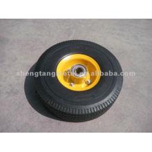 Пу резиновые колеса FP1001 10 * 3,50-4