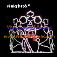 Wholesale Snowman Shaped Christmas Crowns