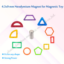 Spielzeug Magnete D4.3 * 9mm Standard N35 Grade 4000GS