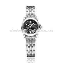 Montre imperméable à l'eau quartz valentine rétro montres en acier inoxydable