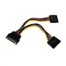 Cable de alimentación personalizado SATA 15pin SATA 15pin