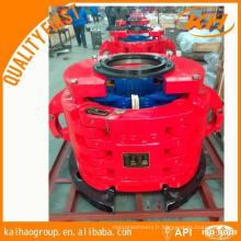 Type CHD Pneumatique Tubing Spiders loading 125 tonnes