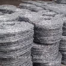 Factory customize barbed wire cheap export 25kg 50kg barbed wire price per roll,chain link fence top high tensile barbed wire
