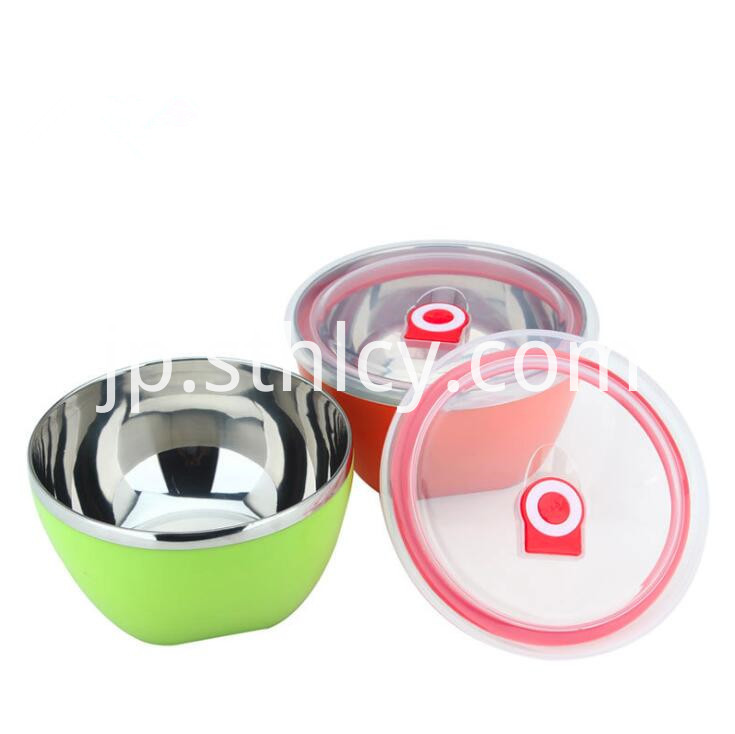 Stainless Steel Bowl Camping