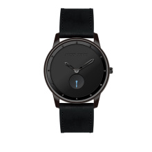 luxury 3atm water resistant black stainless steel quartz watch