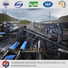 Stahlrahmen für Gurtförderer