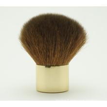 Natural Hair Kabuki Brush with Gold Ferrule