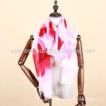 ручная роспись кашемировая шаль для женщин