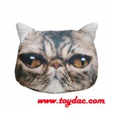 Digital bedruckte gefüllte künstliche Katze Kopfkissen
