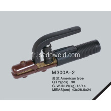 American Type Electrode Holder M300A-2 (Full Copper)