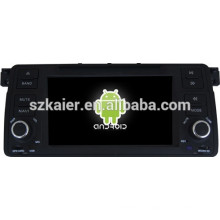 Android 4.4 Mirror-link Glonass / GPS 1080P doble núcleo coche GPS player para BMW E46 con GPS / Bluetooth / TV / 3G