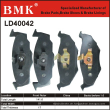 Hochwertige Bremsbeläge (LD40042)