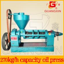 Expulsor de aceite de girasol de la marca de fábrica de Guangxin para la prensa del aceite de la semilla del grano (YZYX120-9)