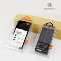 Caixa de caixa de plástico do telefone móvel