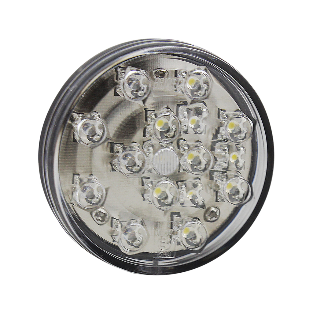 E4 Round White Truck Front Position&Indicator Lighting