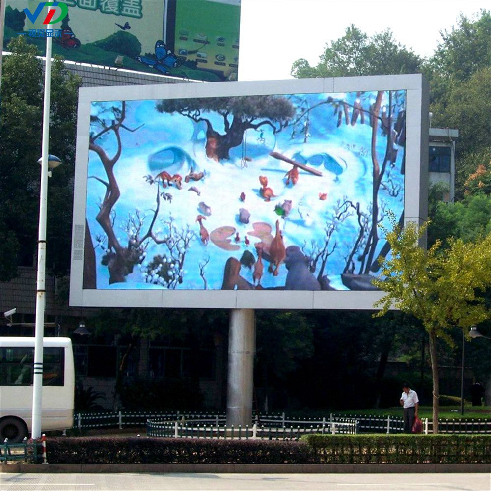 Fixed Installation Full Color Advertising Outdoor Led Screen
