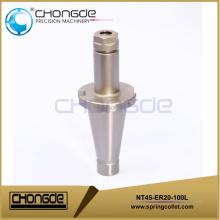 Высококачественные цанговые держатели для инструментов NT45-ER20-100L