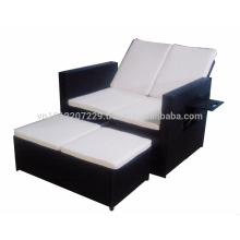 Muebles de jardín / de mimbre - Gaslift backrest double seater