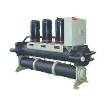 Unidad industrial comercial del enfriador de la bomba de calor de la refrigeración por agua de tipo tornillo