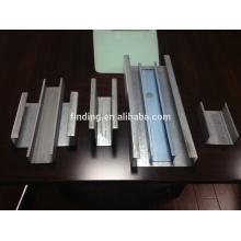 CE standard c channel steel roll forming machine portable steel channel making machine
