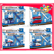 Hot selling die cast airport play set airfield series toys for sale