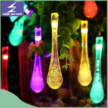 Solar LED Christmas Wedding Curtain String Light for Holiday Garden Tree Party