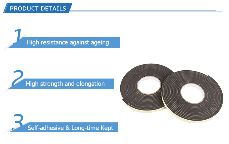 Wholesale High Quality Double Sided Adhesive EVA Foam Grip Tape