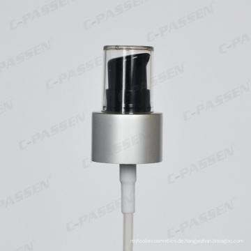 Matte Aluminium-Kunststoff Lotion Creme Pumpspender