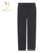 Pantalones de cachemir de punto hechos a mano de las ventas de fábrica