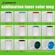 SUNMETA fournit une tasse revêtue de céramique pour sublimation en gros