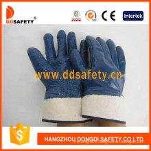 Jersey Blue Nitrile Glove Dcn511