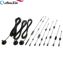 Professional Customized High Gain GSM 2.4G 3G 4G Spring Sucker Helical Magnetic Mount Antenna