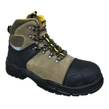 New Designed TPU + Nubuck Leather Safety Shoes (WS6006)