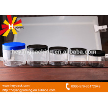 Wholesale plastic jars with screw top lids for peanut butter