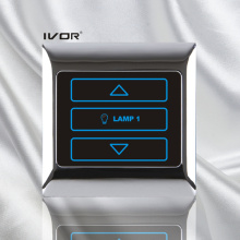 1 Gang Dimmer Switch in Metal Outline Frame (SK-T2000D1)