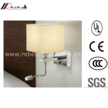 Hotel Aluminum LED Bedside Reading Wall Lamp