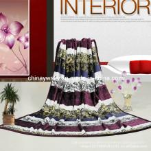 Großhandel 100% Polyester Super Soft Flanell Micro Fleece-Decken