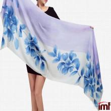 Merino Wool Fashion Lady Scarf