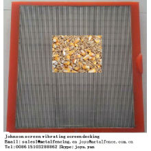 Grain drying floor Johnson screen vibrating screen decking