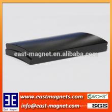 Hochwertiges Arc Segment Neodym Magnete für Motor / Epoxy beschichtet Block ndfeb Magnet zum Verkauf