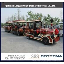 Китайский Дизель популярный туристический поезд с 02 тренеров
