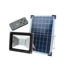 Foco LED solar resistente al agua Garden IP65