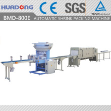 Automatic Bottom Lap Reatangle Pipes Sealing & Shrink Packing Machine