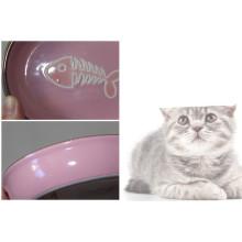 2015 5star factory low price ceramic pet bowl
