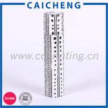 Cylindre de conception personnalisée en forme de long cadeau papier boîte ronde